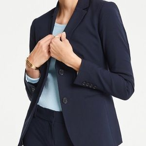 Ann Taylor Two Button Blazer In Tropical Wool
